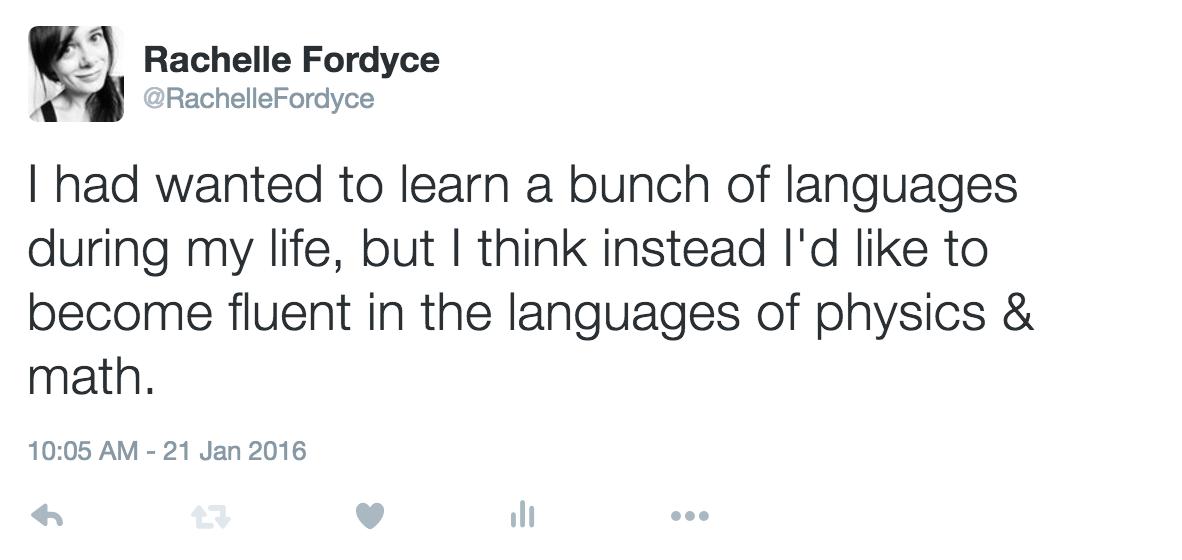 language tweet